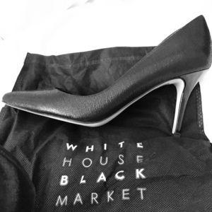 Stunning White House Black Market Leather Pumps